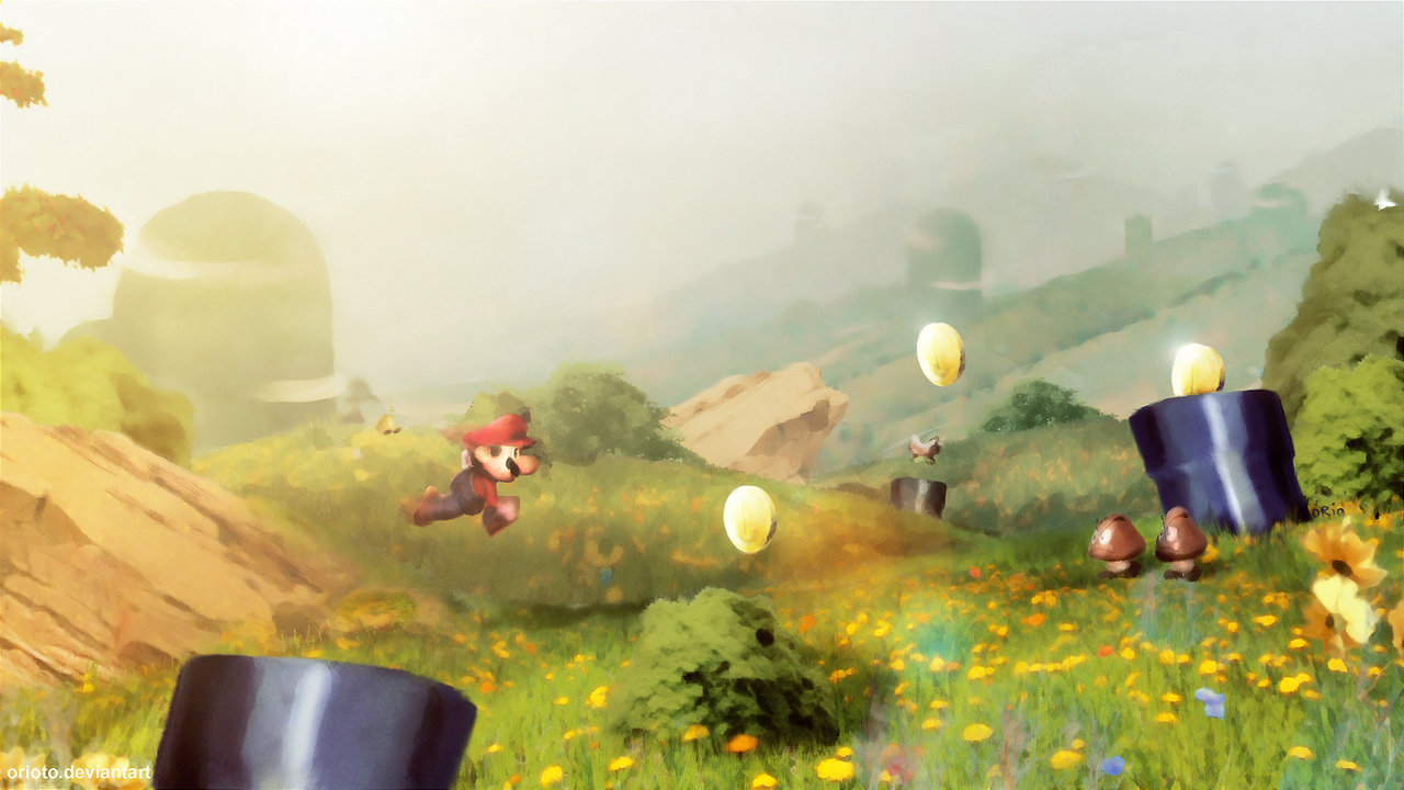 Game with watercolor - How Do You Think Nintendo Should Approach The Next 2d Mario Game Neogaf