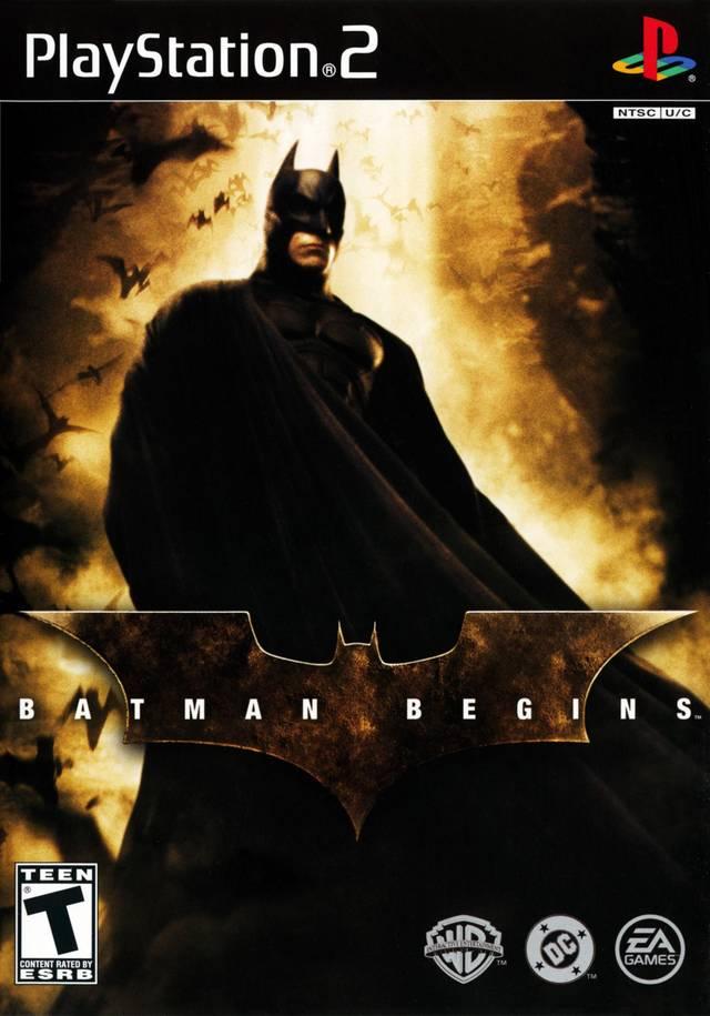 Análise: Batman Begins (PS2, Game Cube, Xbox)