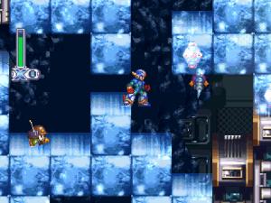 A segunda Area é cheia desses blocos de gelo quebráveis.