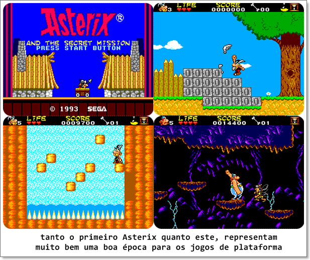 asterix secret mission